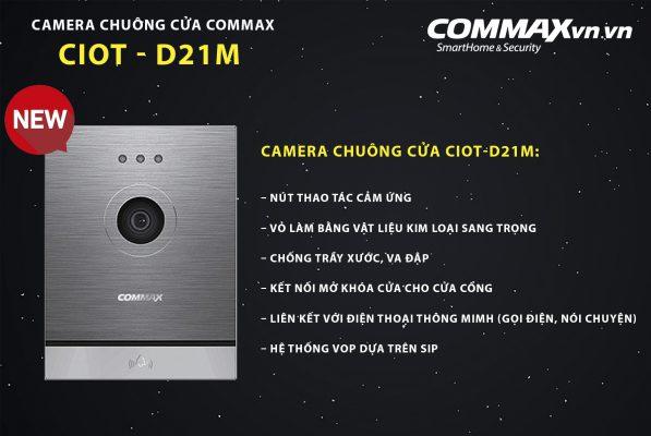 Camera chuông cửa CIOT-D21M
